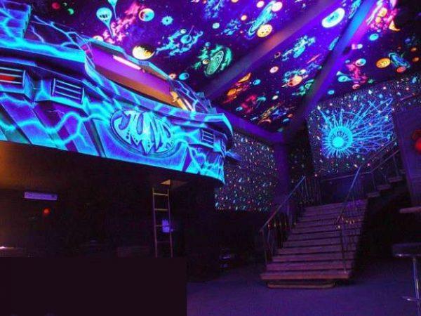 флуоресцент интерьер